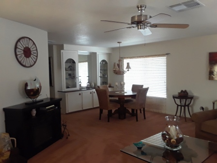 83 living room to dining room